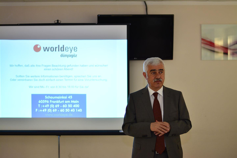 Doktor der Medizin (Universität Istanbul) Fazil Peru